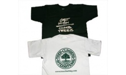 """Get High/Climb Trees"" T-shirt"